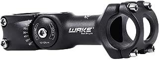 BESNIN Bike Stem 0-60 Degree 25.4mm 31.8mm 90mm 110mm Adjustable MTB Stem Handlebar Stem Mountain Bike Stem Aluminum Alloy Black