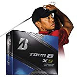 Bridgestone Golf Tour B XS Golf Balls, White (One Dozen) - 760778083017