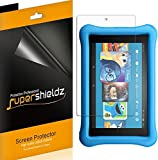(3 Pack) Supershieldz for All New Fire HD 10 Kids Edition Tablet 10.1 inch (9th and 7th Generation, 2019 and 2017 Release) Screen Protector, High Definition Clear Shield (PET)