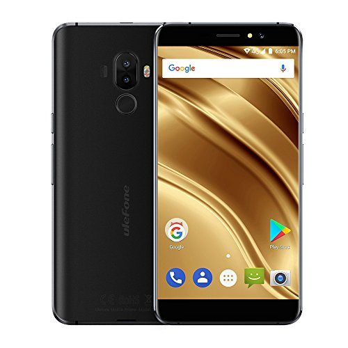 Ulefone S8 Pro,Smartphone ohne vertrag,Android 7.0,5.3 Zoll HD IPS 1280 * 720,3000mAh große Batterie,2 GB RAM+16 GB ROM,(5MP+13MP,5MP) Kamera,MT6737 Quad-core 1.3GHz,4g FDD-LTE Handy,Schwarz