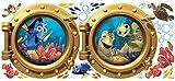RoomMates RM - Disney Findet Nemo Bullaugen Wandtattoo,