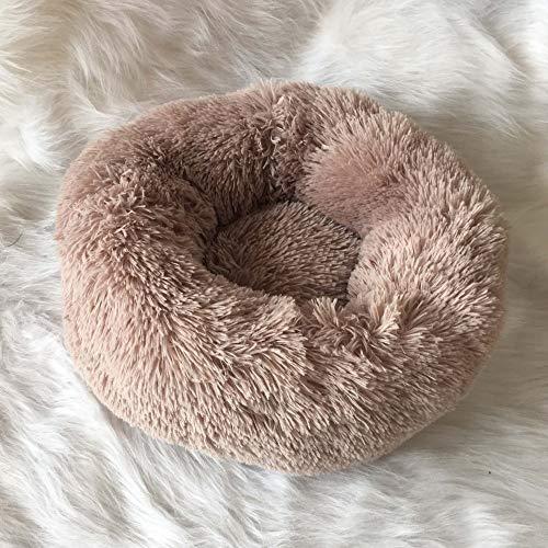 MYYXGS OrthopäDisches Hundebett Comfort Donut Waschbar Hund Und Katze Kissen Bett 60Cm