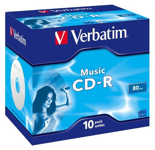 Verbatim 43365–CD-R vergini (CD-R, 700MB, velocità 16x)