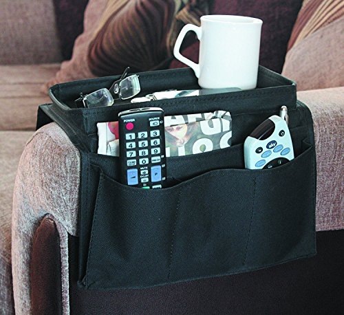 Arm Rest Organiser - Armchair Companion - keep all your items in one place - 6 pockets by SK