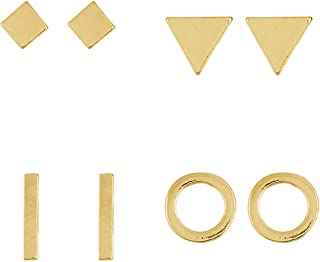 Best gold square earrings Reviews