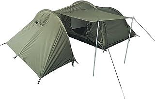 Mil-Tec 3人用テント プラス ラゲージ収納テント エントランス ひさし付き OLIVE DRAB
