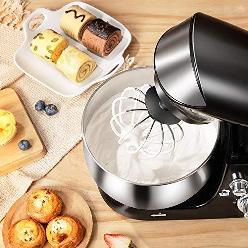 bester Test von quigg retro kuchenmaschine YUI 600W Elektromixer, 3.5L Mixer, Küchenmaschine…