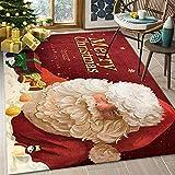 Ximger Alfombra absorbente de Navidad con dibujos animados...