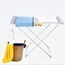 Delavala Electric Clothes Drying Rack, Stainless Steel Tubes Thermostatic Folding Drying Rack Constant Temperature Drying High Material Charging Drying Hanger