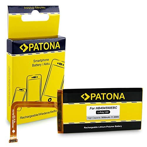 PATONA Batteria HB494590EBC Compatibile con Huawei Ascend G620, G628, Honor 7