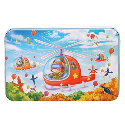 Goviells Puzzle Kinder, Intelligenz Pädagogisches Geschenk für Kinder, Holz Puzzle, Jigsaw Puzzle Geburtstagsgeschenk für Kinder, Familie Interativ-Verkehrserkennung