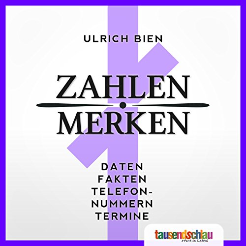 Zahlen merken! audiobook cover art