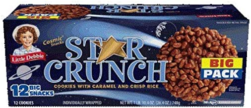 Little Debbie Star Crunch Cosmic Snacks 26.4 Oz (3 Boxes) by Little Debbie