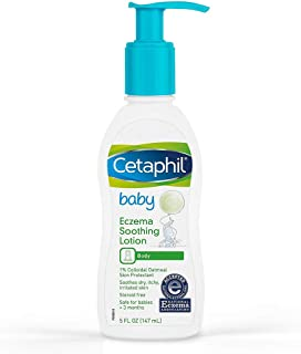 Cetaphil Baby Eczema Soothing Lotion with Colloidal Oatmeal | Dermatologist Recommended for Dry, Itchy and Irritated Skin ...