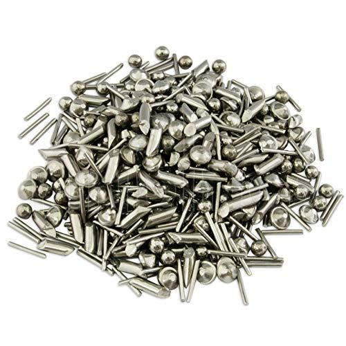Mixed Stainless Steel media bearings Shot Tumbling tumbler polishing metal 1kg by Jewellers Tools