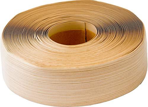 Weichsockelleiste selbstklebend, 25m Rolle, Sockelleiste für Laminat, Parkett und Vinyl, Winkelleiste aus Kunststoff, Abschlussleiste für Boden und Wand (ahorn select)