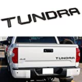 Tailgate Insert Letters fits 2014-2021 Toyota Tundra Accessories