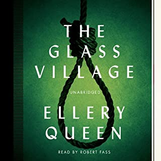 The Glass Village audiobook cover art