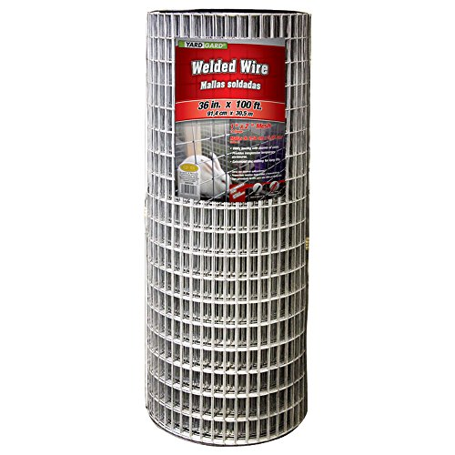 YARDGARD 309223A Fence, 36' x 100'/2' x 1', Color - Galvanized