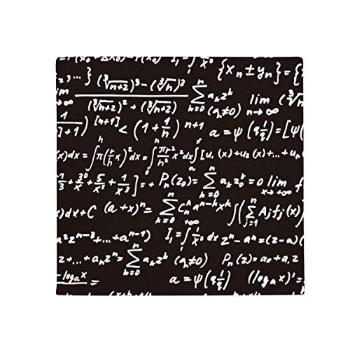 DIYthinker zusammenzufassen mathematischen Formeln Zahnstein Figur Anti-Rutsch Boden Pet Matte quadratisch Home Kitchen Tür 80cm Geschenk