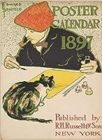 Edward Penfield ジクレー キャンバスに印刷 -有名な絵画 美術品 ポスター-再生 壁の装飾(カレンダー用カバー) #XFB