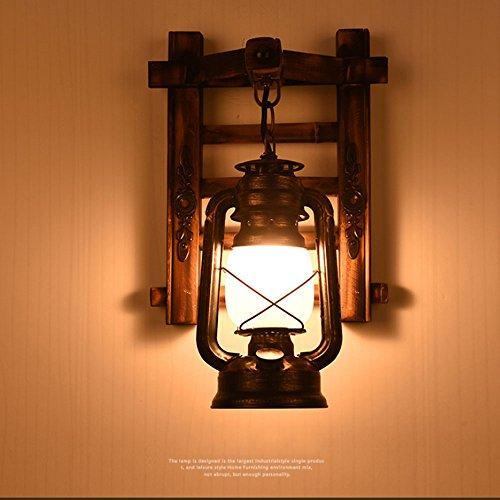 Bamboe wandlampen, retro paard licht, outdoor, waterdichte wandlampen, super heldere verlichting, woonkamer, slaapkamer, trap, café, restaurant, wanddecoratieve verlichting