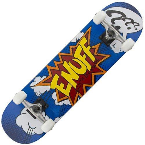 Enuff POW - Skateboard completo, blu, 31.5inch x 7.75inch