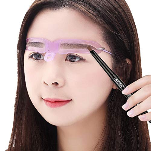 8 PCS Eyebrow Stencils,Brow stencil,Eyebrow Mold,Eyebrow Assistant tool,Eyebrows Grooming Stencil Kit,Shaping Templates,Eyebrow Stencils Reusable,DIY Makeup Tools