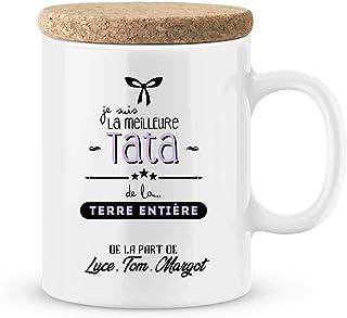 Cadeau tata - Mug à personnaliser avec votre prénom pour tata - idée cadeau tata