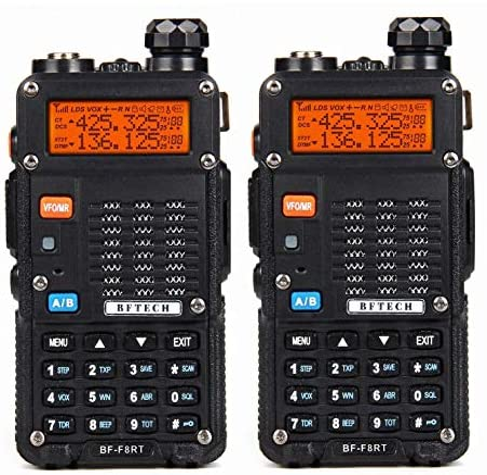 Top 10 Best baofeng bf-f8hp (uv-5r 3rd gen) 8-watt dual band two-way radio Reviews