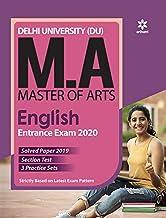 Delhi University MA English Guide 2020