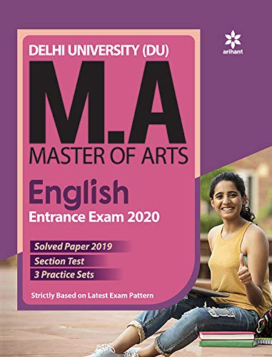 Delhi University MA English Guide by Arihant Experts