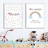 Kleine Muslimische Kinderzimmer Wandkunst GemäLde