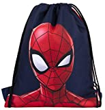 Marvel Comics Sakky Kids Spiderman - Bolsa escolar para niños