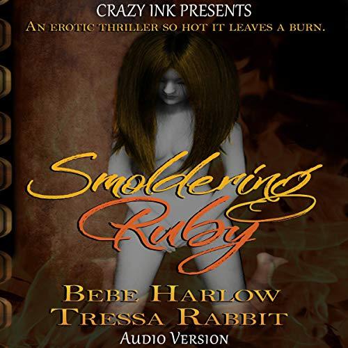Smoldering Ruby audiobook cover art