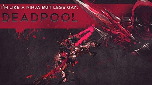 Deadpool Ninja But Less Gay Playmat Mouse Pad