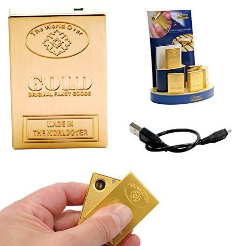 DRULINE USB Feuerzeug CHAMP Glühspirale GOLDBARREN Zigarettenanzünder NEU & OVP