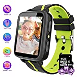Kids Smartwatch Phone with 1GB Memory Card MP3 Music Player Kids Phone Watches and FM Radio HD Touch...