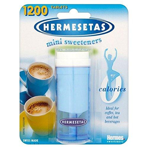 Hermesetas Mini Süßstoffe (1200 pro Packung) - Packung mit 2