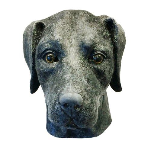Off the Wall Toys Black Labrador Retriever Dog Costume Face Mask Kennel Club