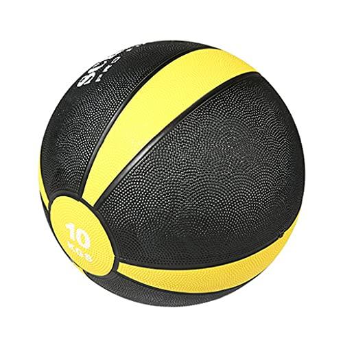 ZXQZ Balones Medicinales, Bola de Pared, para Entrenamiento Personal, Entrenamiento Cruzado, Entrenamiento Básico, Entrenamiento Físico, 1 Kg / 2 Kg / 5 Kg / 6 Kg / 8 Kg / 9 Kg / 10 Kg (Size : 10kg)