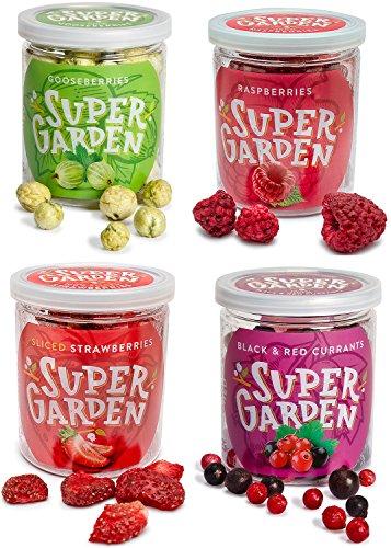 Supergarden Snackbox - Gefriergetrocknete Beeren und Früchte (Omas Garten)