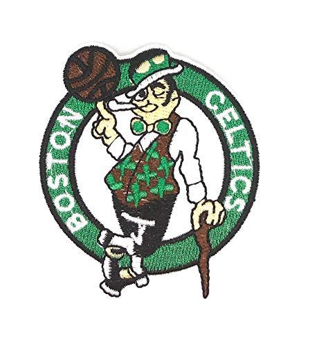 Gemelolandia Parche Termoadhesivo Boston Celtics 7x6cm