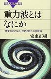 重力波とはなにか 「時空のさざなみ」が拓く新たな宇宙論 (ブルーバックス)