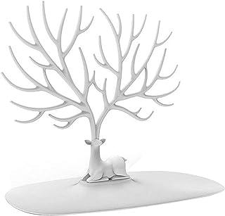 Anelli Bangle009 a Forma di Albero di Cervo Bianco Orecchini bracciali da Appendere Espositore per Gioielli collane