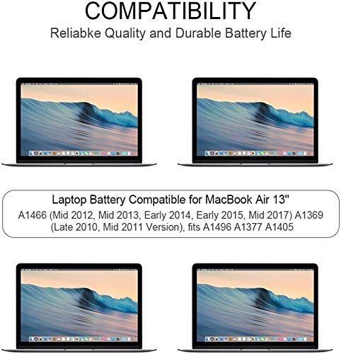 Laptop Ersatz Akku A1496 für MacBook Air 13