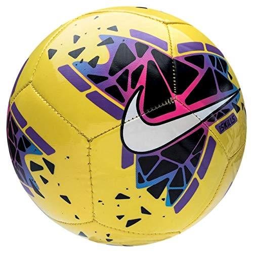 Nike Skills Mini Fußball Unisex Kinder Mehrfarbig (Gelb/Schwarz/Purple/White), 1