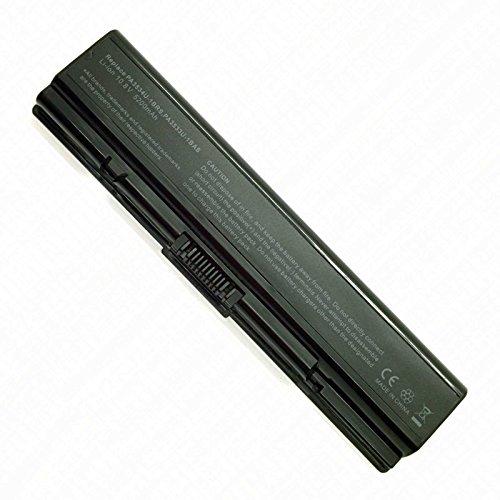 Batería Nueva y Compatible para Portátiles Toshiba PA3534U-1BRS Satellite A200 A355 L500 Equium A210 Series 6 Celdas Li-Ion 10,8v 5200mAh Listados en Descripción