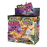Cartas de dibujos animados para niños de 1/100/120/360 unidades, incluye juegos de cartas de Pokémon, tarjetas Pokémon Flash (360 hojas Darkness Ablaze)