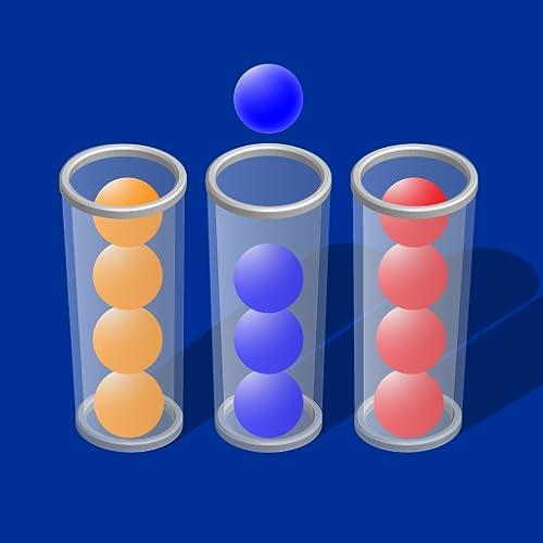 Bubble Sort Color Puzzle brain Teaser : Sort It